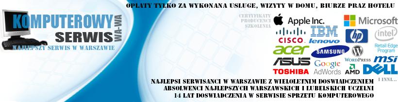 Serwis komputerowy w Warszawie, naprawa komputera i laptopa